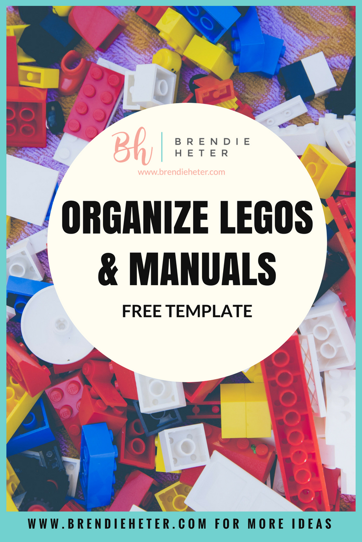 How To Quickly Organize Lego Manuals